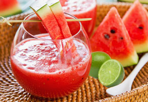 watermelon and oats