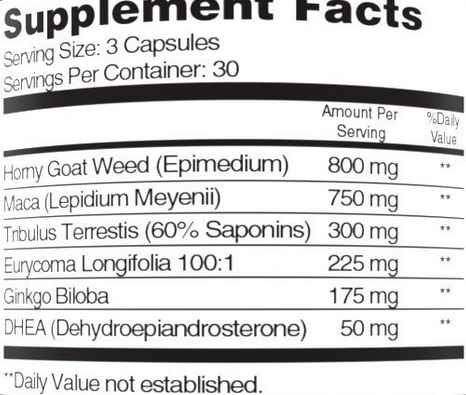 Sheer Alpha ingredients