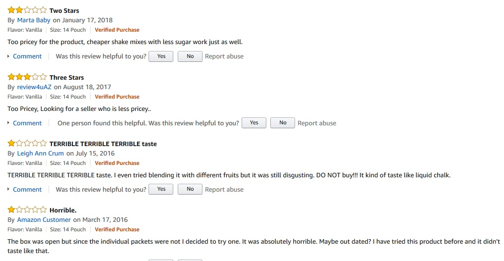 AdvoCare Meal Replacement Shake reviews