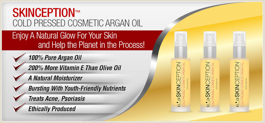 Skinception Argan Oil Benefits