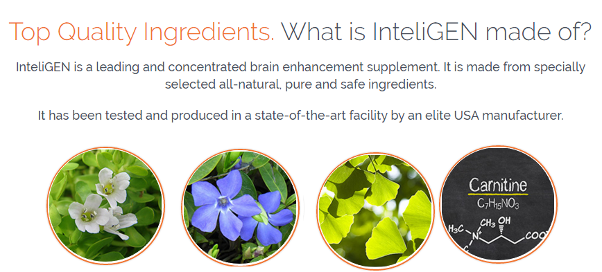 inteligen ingredients