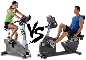 Exercise Bikes : Upright Vs. Recumbent – Which One To Choose?