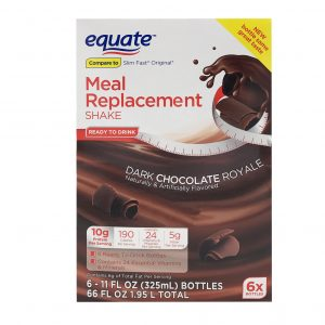 Equate Shake Dark Chocolate Royale