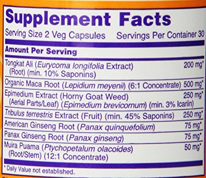 TestoJack 200 ingredients
