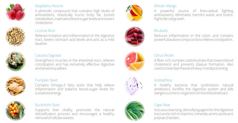 Apex Cleanse Detox ingredients