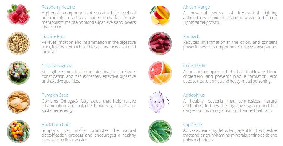 Apex Cleanse Detox ingredients