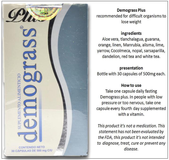 Demograss Plus ingredients