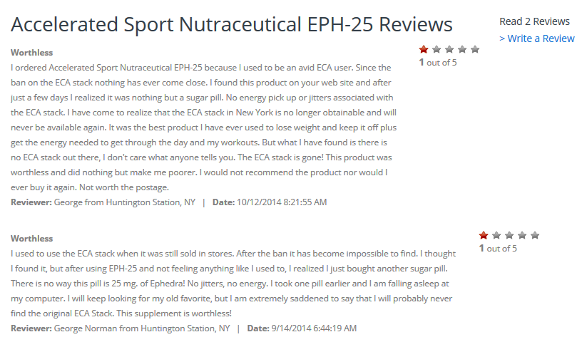 EPH-25 reviews