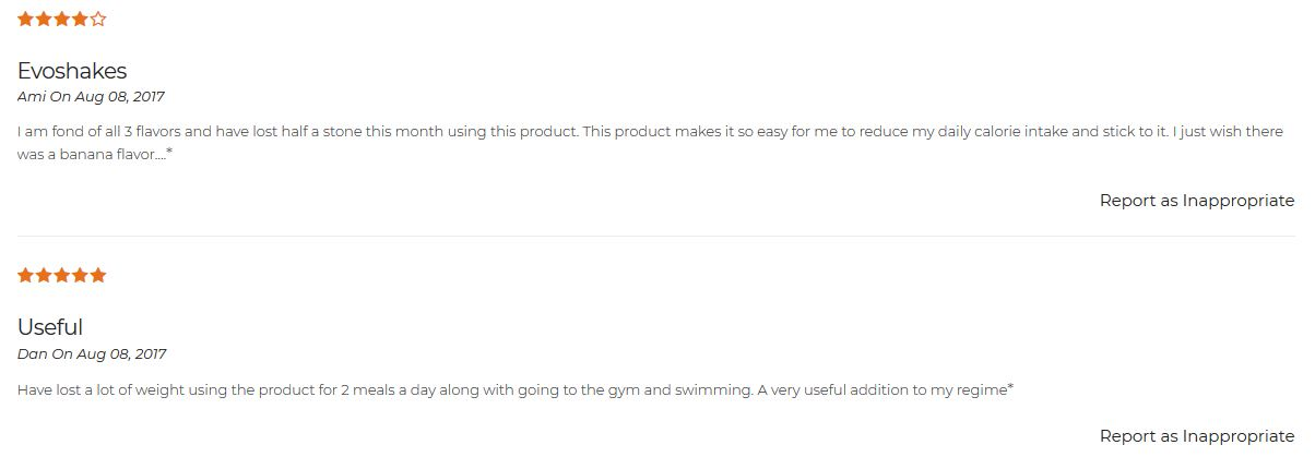 EvoShake reviews
