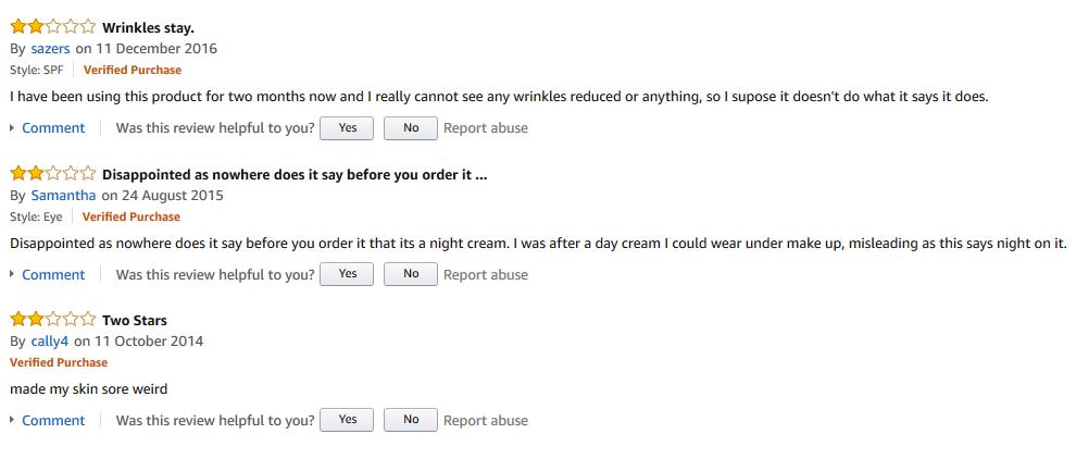 Garnier UltraLift reviews