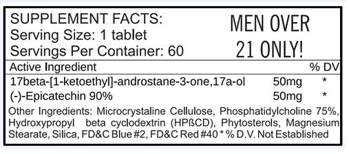 LG Sciences 17-Pro Andro ingredients