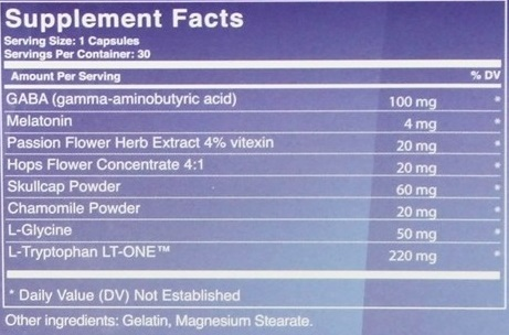 Luminite ingredients