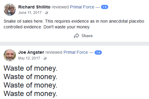 Primal Force Native Rest reviews