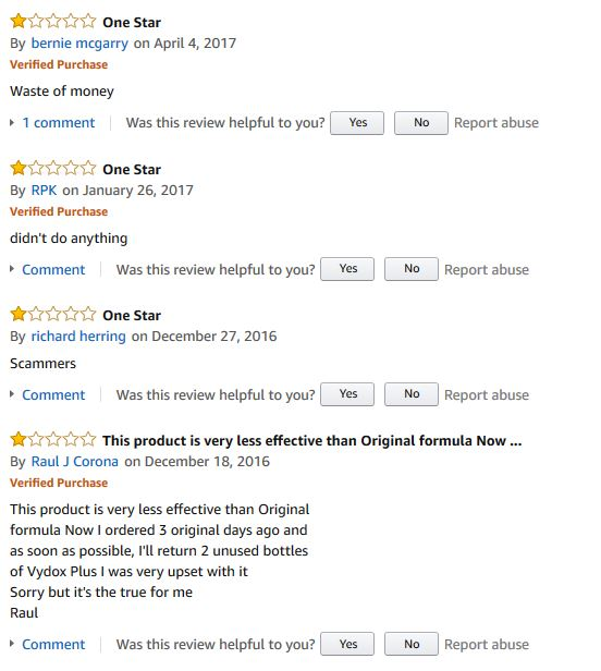 Vydox Plus reviews