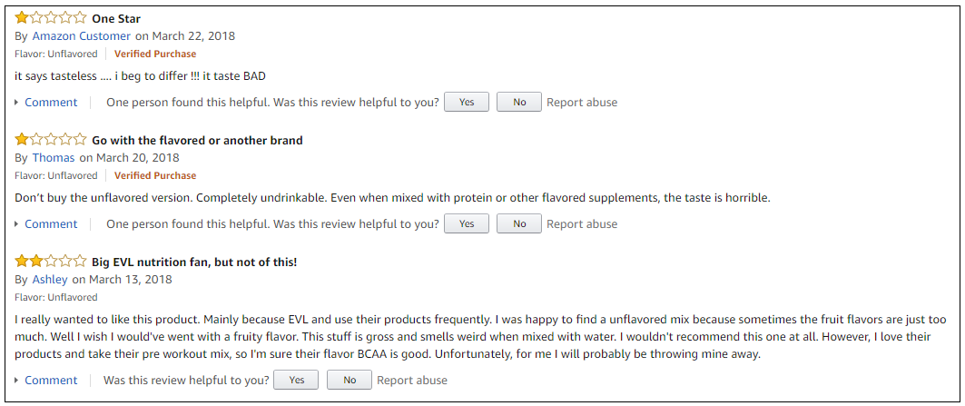 BCAA 5000 reviews