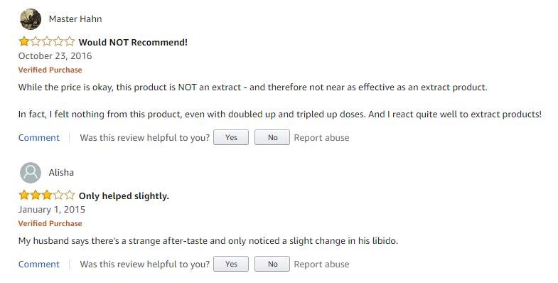Catuaba Male Enhancement reviews