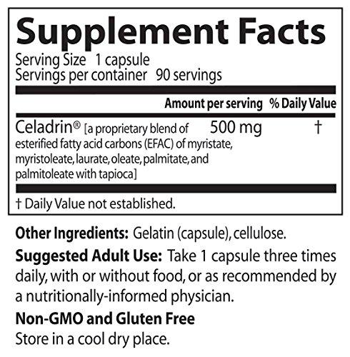 Celadrin ingredients
