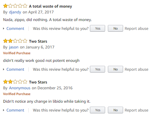 Horny Goat Weed reviews