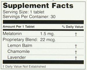 MidNite Sleep Aid ingredients