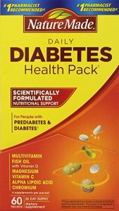 Nature Made Daily Diabetes Health Pack