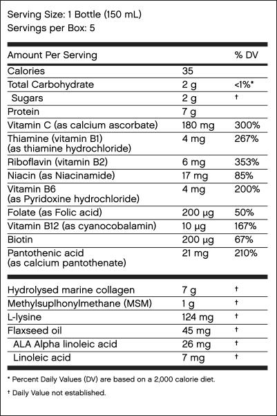 Skinade Ingredients