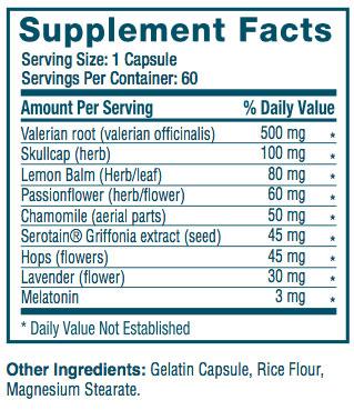 Somulin ingredients