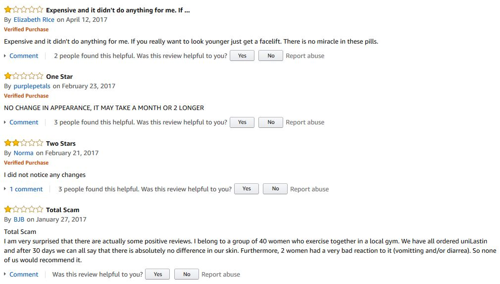 Unilastin Reviews