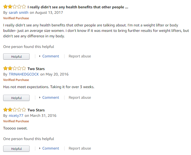 Barlean's Tonalin reviews