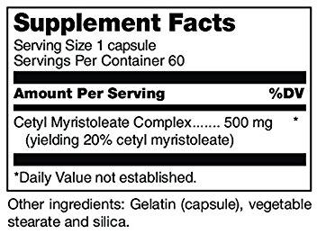 Cetyl Myristoleate ingredients