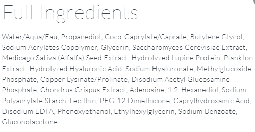 Kate Somerville Eye Creams ingredientse Creams ingredients