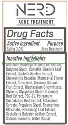 Nerd Skincare ingredients