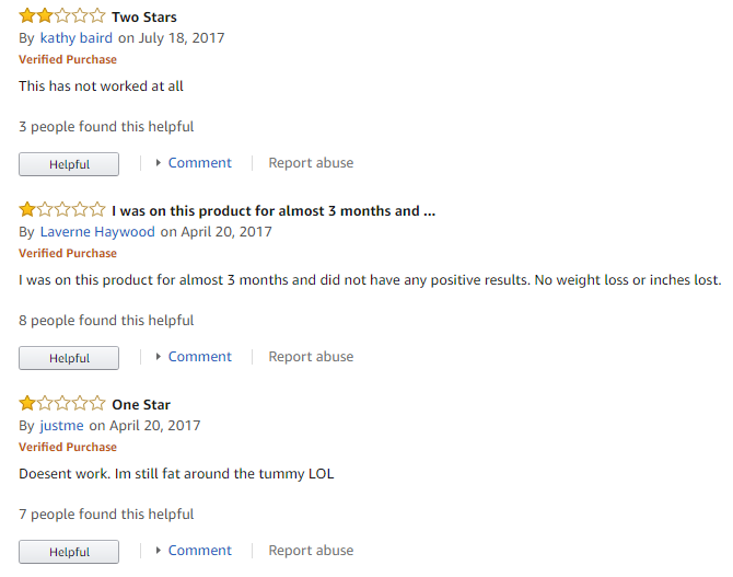 Stored-Fat Belly Burner reviews