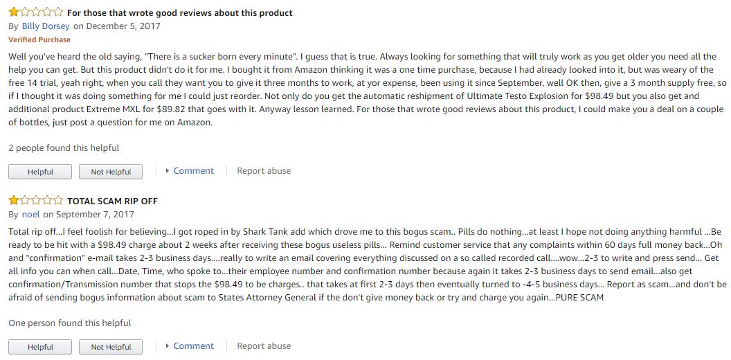 Ultimate Testo Explosion reviews