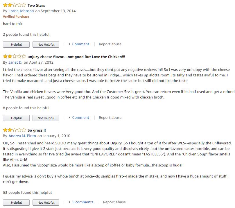 Unjury reviews
