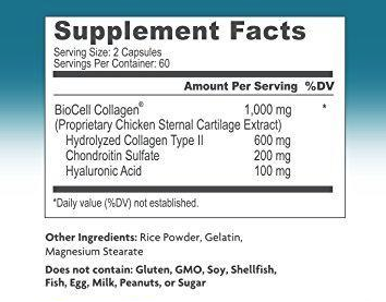 BioCell Collagen ingredients
