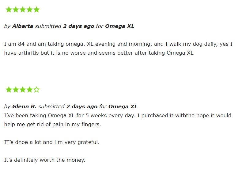 real omega xl reviews