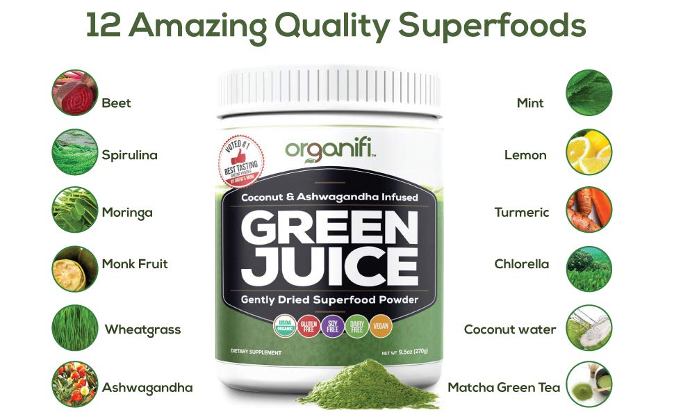 organifi ingredients