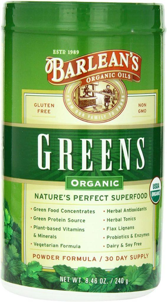 Barlean's Greens