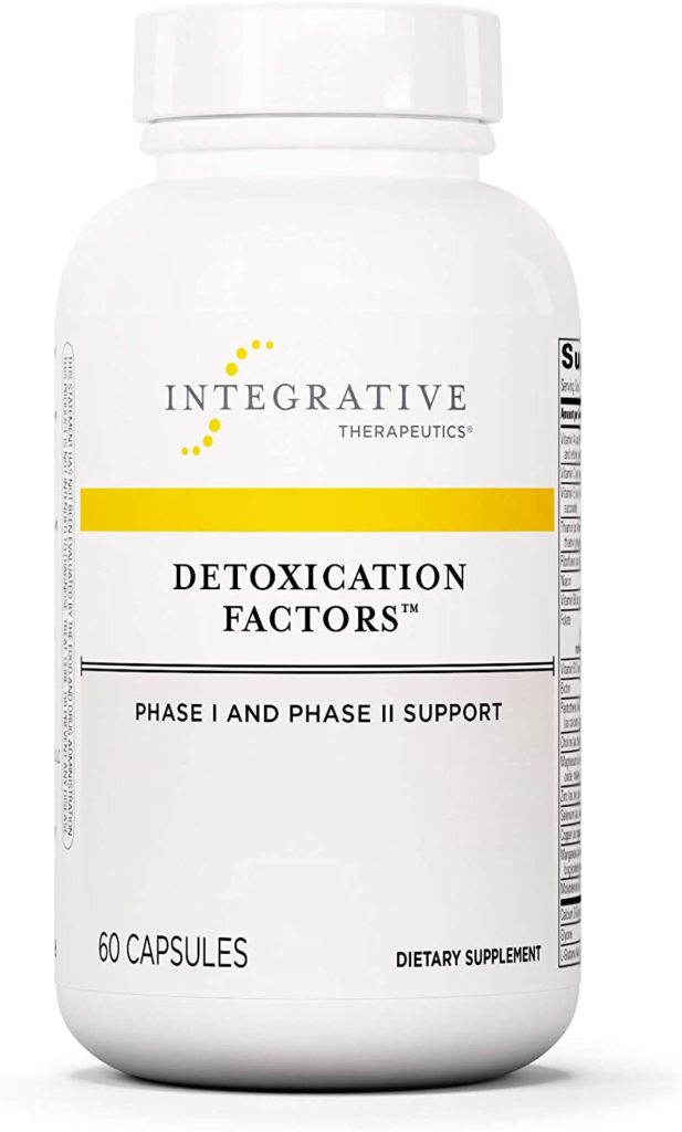 Integrative Therapeutics Detoxification Factors