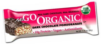 NuGo Organic Dark Chocolate Pomegranate