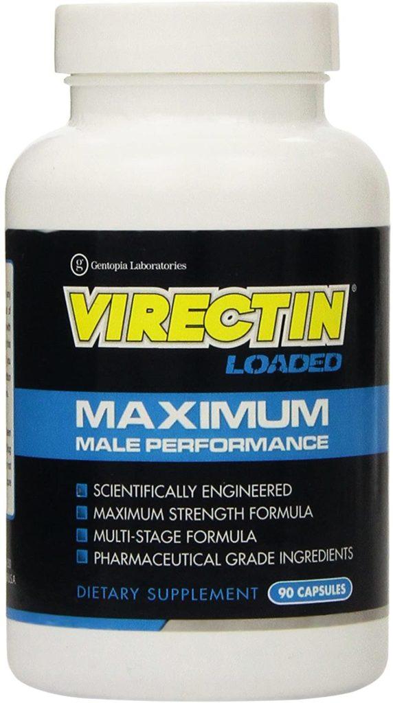 Virectin bottle