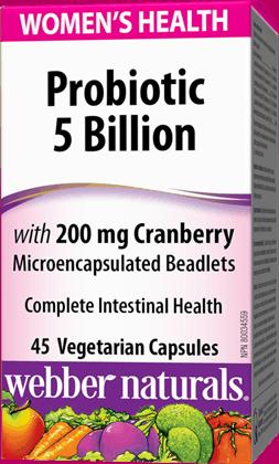 Webber Naturals Probiotics 5 Billion
