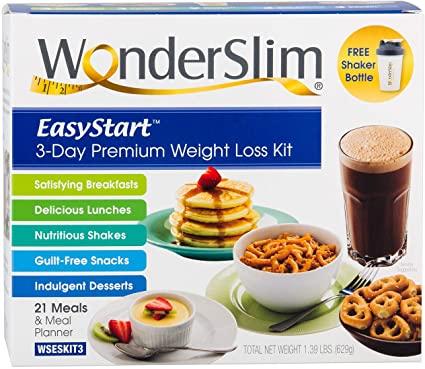 WonderSlim best meal replacement program
