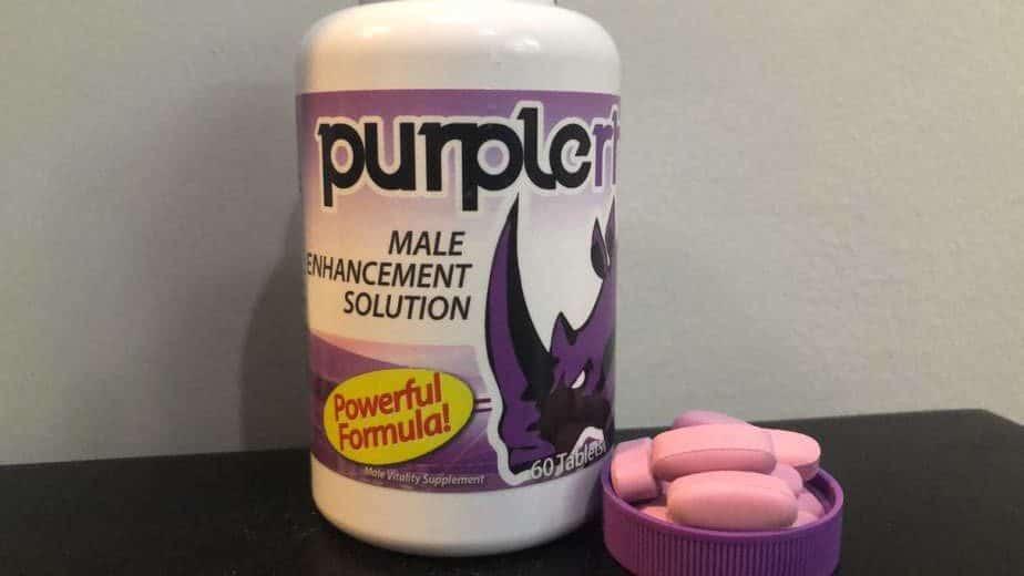 Purple Rhino dietary supplement reviews