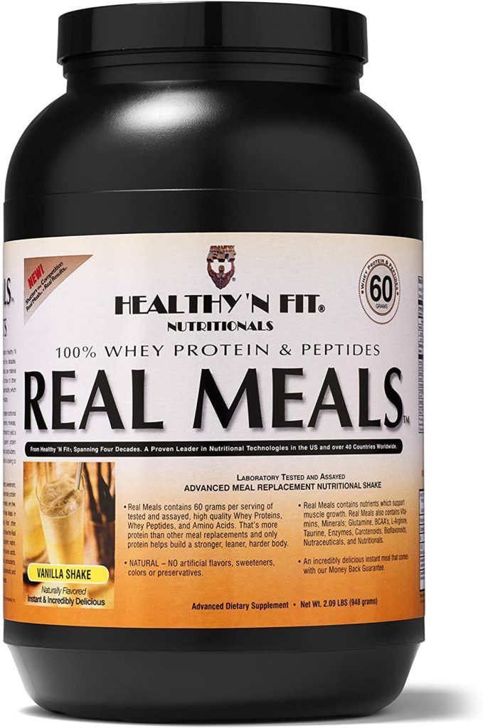 Real Meals meal replacement