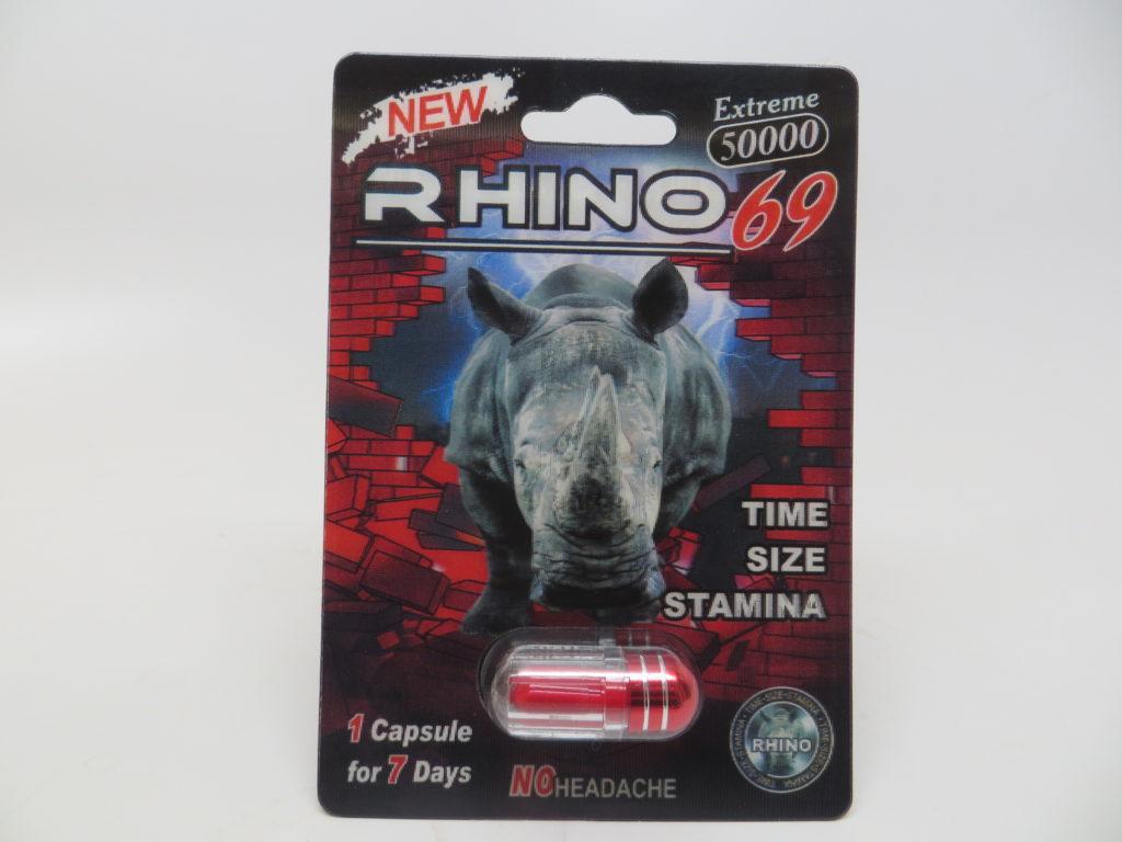 Red Rhino male enhancement supplement