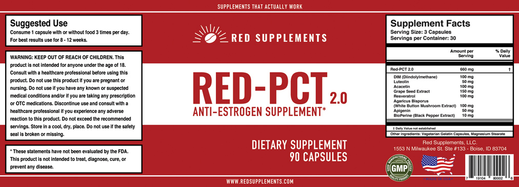 Red Supplements RED-PCT